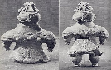 Clay Figurines from Jomon Period