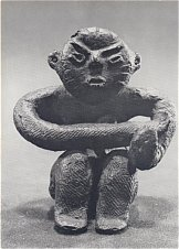 Clay Figurine from Jomon Period