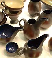 Cups and pitchers by Masao Yamauchi