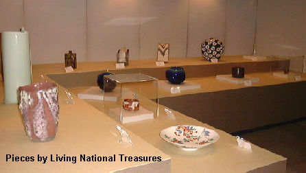 Pieces by Living National Treasures