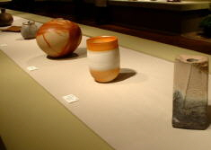Various pieces on display at Tanabe Museum