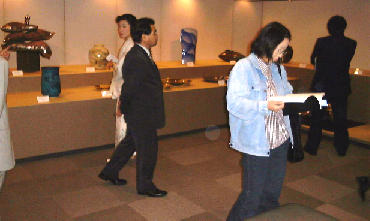Photo of Exhibition Visitors