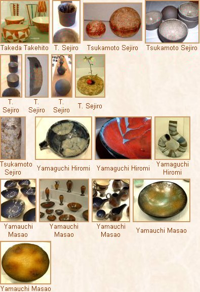 Ten (10) Potters from Izu - Photo Tour