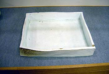 Square bowl by Kato Tsubusa